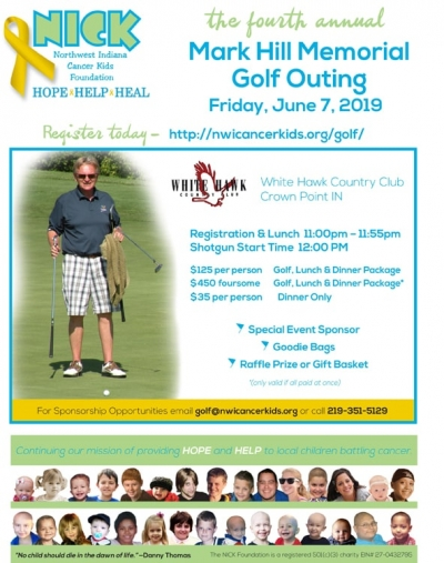2019 Mark Hill Memorial Golf Outing