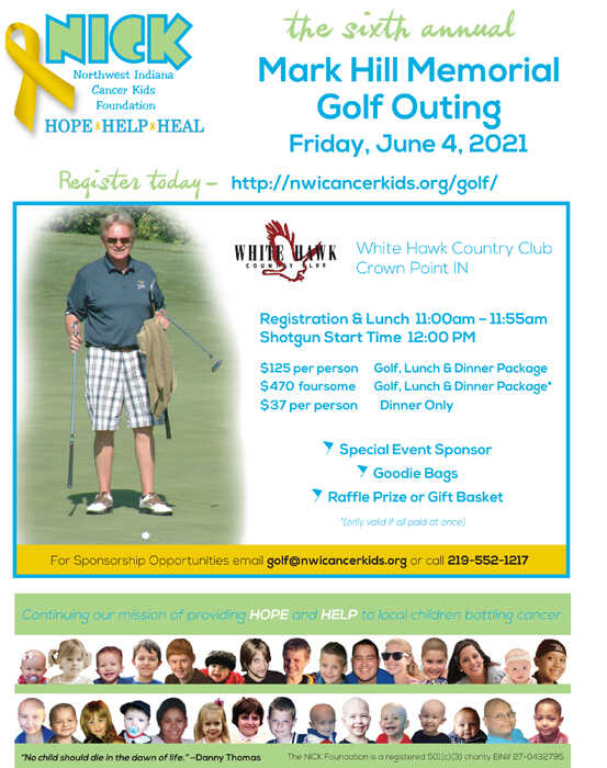 2021 Mark Hill Memorial Golf Outing